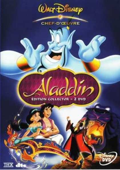French DVDs - Aladdin Special