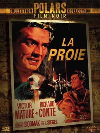 French DVDs - La Proie (Cry Of The City)