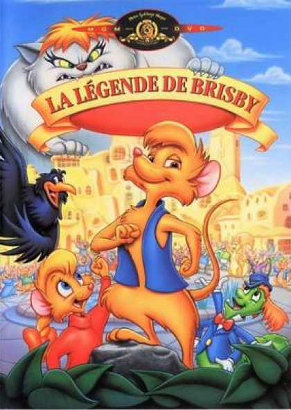 French DVDs - The Legend Of Brisby