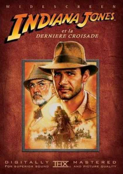 French DVDs - Indiana Jones Trilogy The Last Crusade