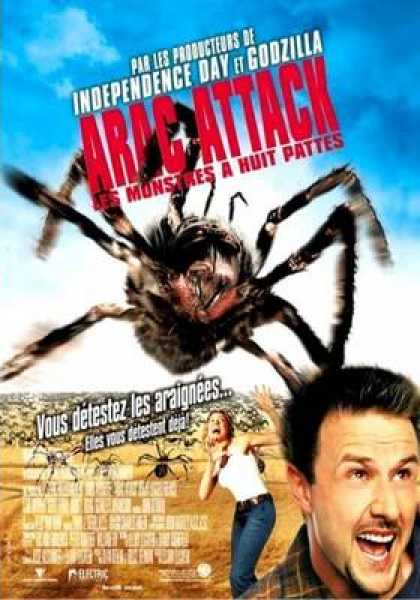 French DVDs - Arac Attack