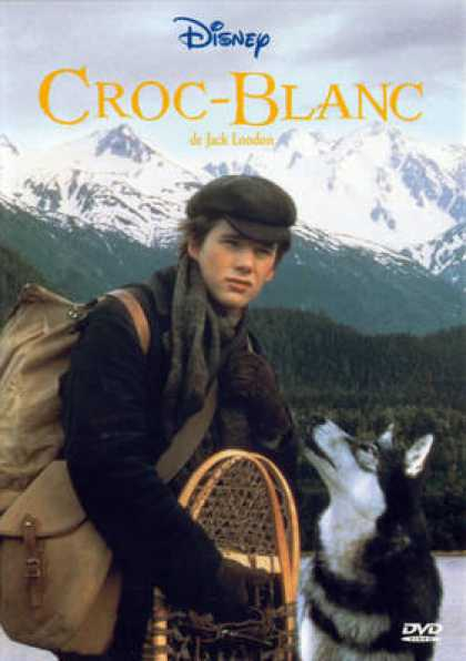 French DVDs - Croc Blanc