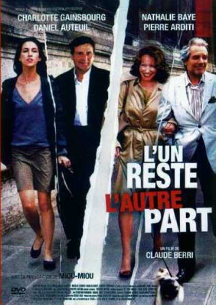 French DVDs - L'Un Reste, L'Autre Part