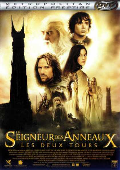 French DVDs - The Lord Of The Rings - Les Deux Tours