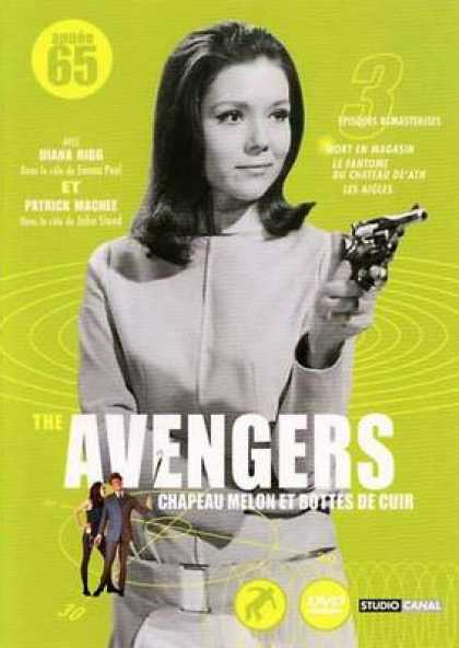 French DVDs - The Avengers 1965 Vol 2