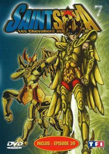 French DVDs - Saint Seiya Volume 07
