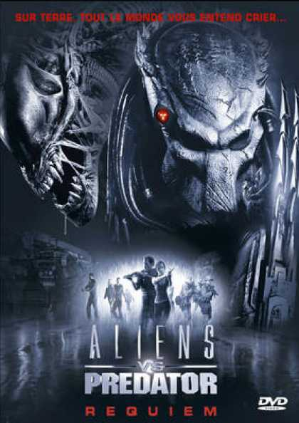 French DVDs - Alien Vs Predator Requiem