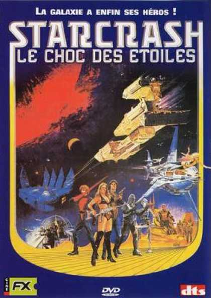 French DVDs - Starcrash