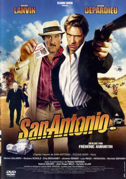 French DVDs - San Antonio