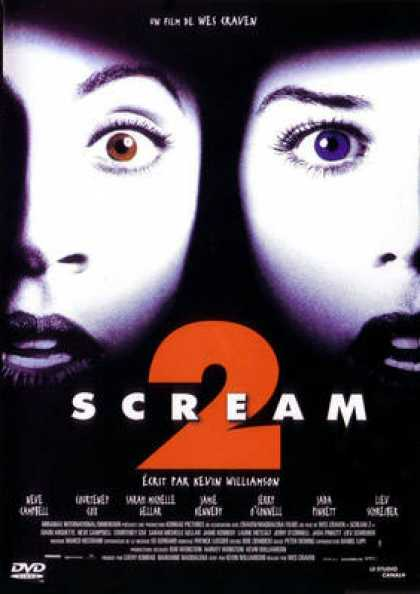 French DVDs - Scream 2