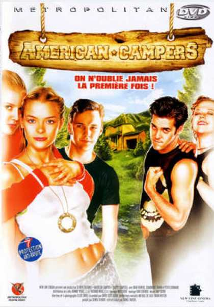 French DVDs - American Campers