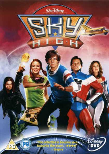 French DVDs - Sky High