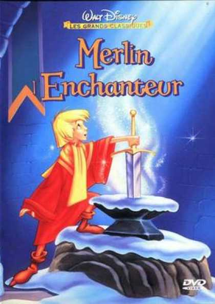 French DVDs - The Sword In The Stone French Canadian