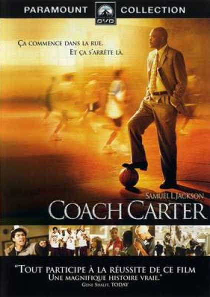 French DVDs - Coach Carter