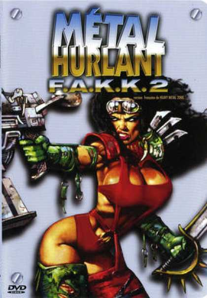 French DVDs - Metal Hurlant F.A.K.K.2