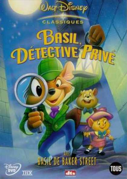 French DVDs - Basil The Great Mouse Detective