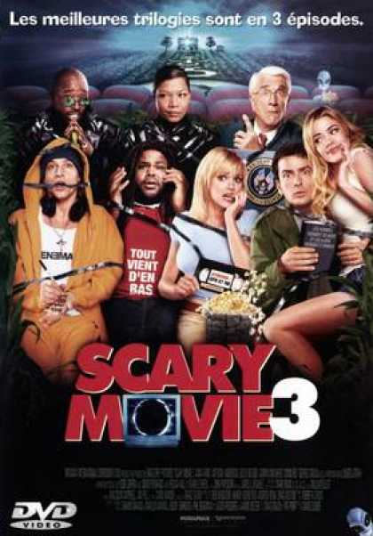 French DVDs - Scary Movie 3