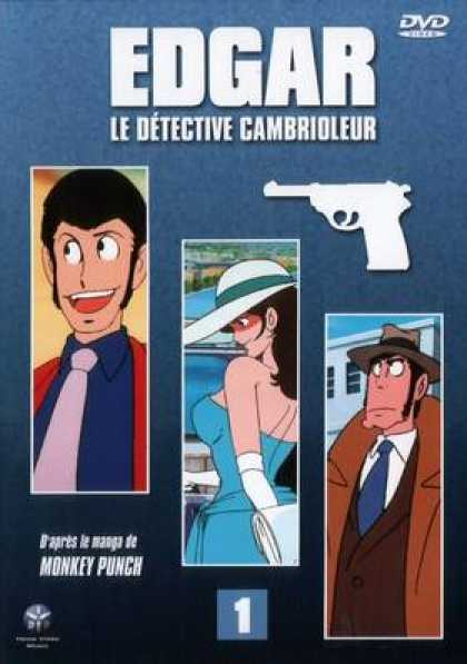 French DVDs - Edgar The Detective Vol 1