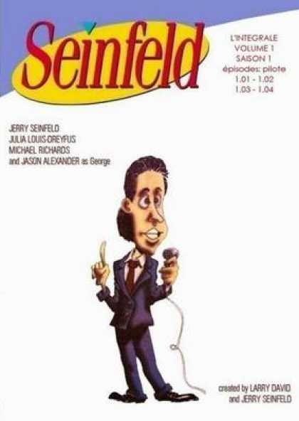 French DVDs - Seinfeld Volume 1