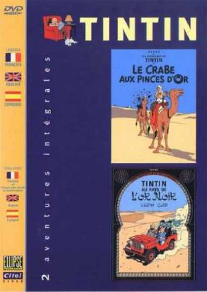 French DVDs - The Adventures Of Tin Tin Vol 6