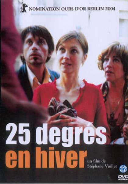 French DVDs - 25 Degrees In Winter