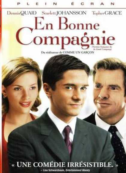 French DVDs - In Good Company