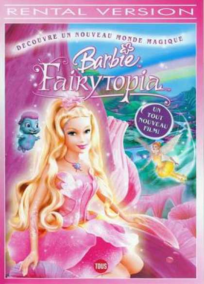 French DVDs - Barbie Fairytopia