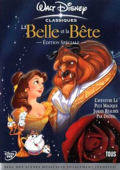 French DVDs - The Beauty And The Beast