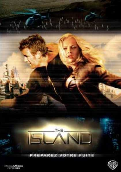 French DVDs - The Island