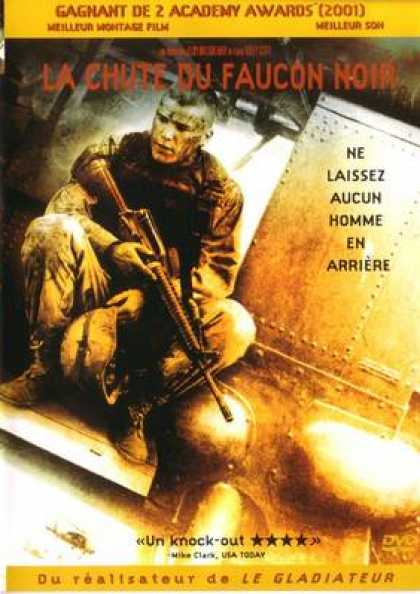 French DVDs - Black Hawk Down French Canadian