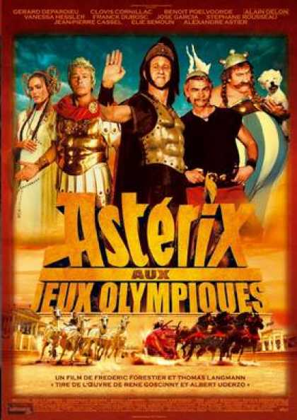 French DVDs - Asterix At The Olympic Games