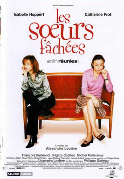 French DVDs - Les Soeurs Fachees