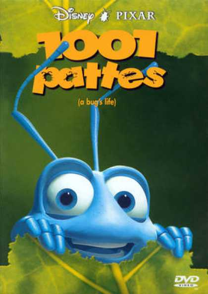 French DVDs - A Bug's Life