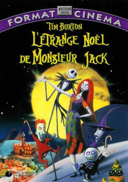 French DVDs - L Etrange Noel De Mr Jack