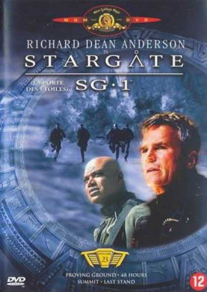 French DVDs - Stargate Sg 1 Vol 23
