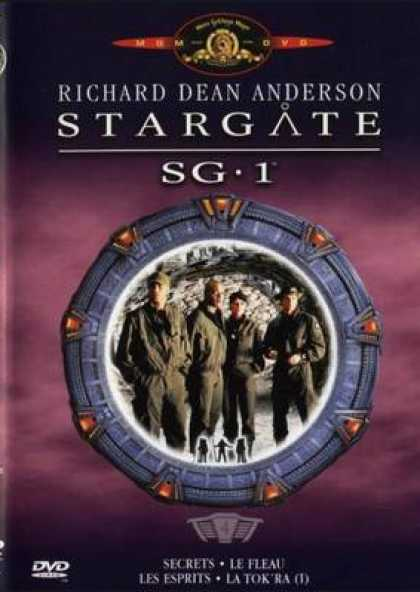 French DVDs - Stargate Sg 1 Vol 4