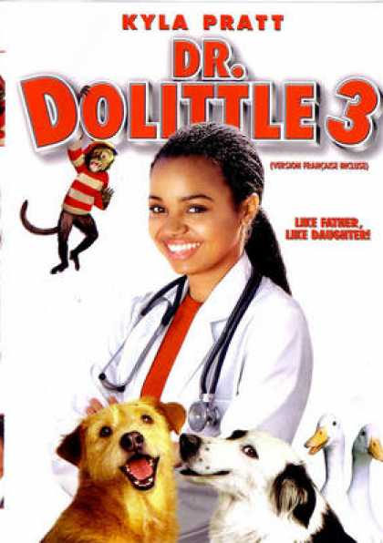 French DVDs - Dr Dolittle 3