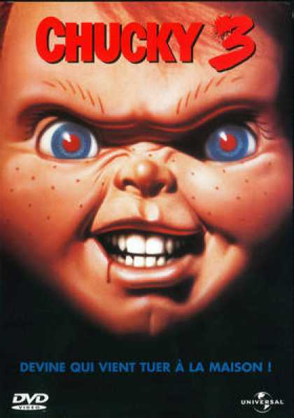 French DVDs - Chucky 3