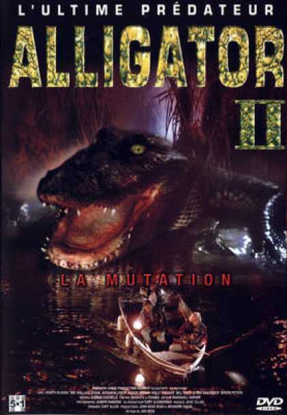French DVDs - Alligator 2