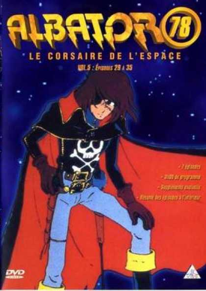 French DVDs - Albator 78 Volume 5
