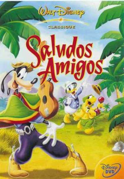 French DVDs - Disneys The Three Amigos