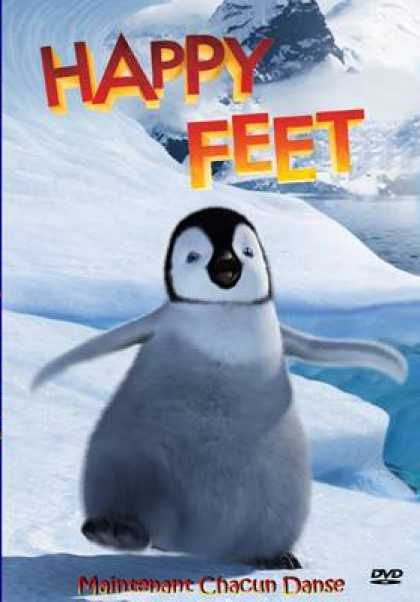 French DVDs - Happy Feet