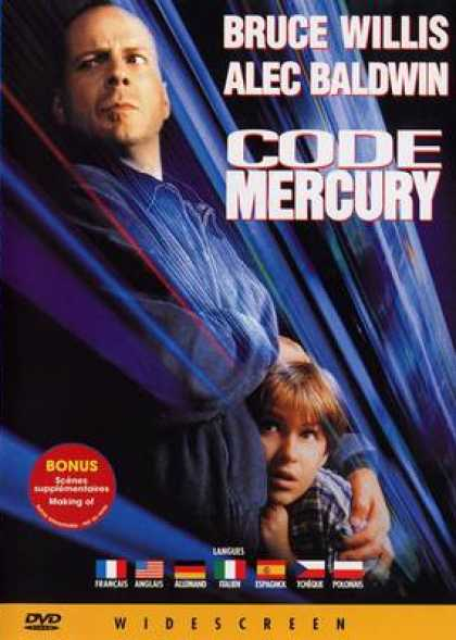 French DVDs - Code Mercury
