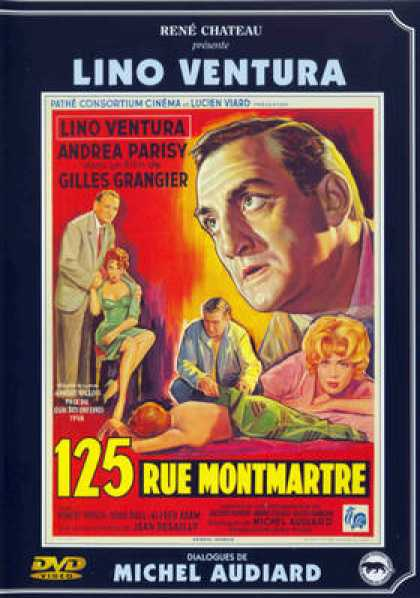 French DVDs - 125 Rue Montmartre