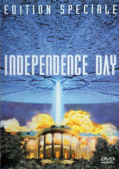 French DVDs - Independence Day