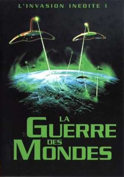 French DVDs - The War Of The Worlds