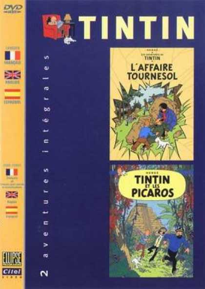 French DVDs - The Adventures Of Tin Tin Vol 3