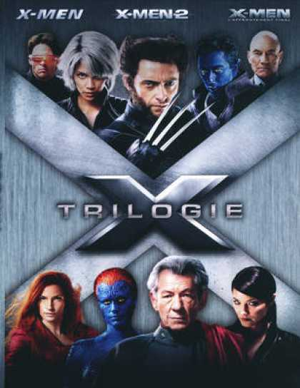 French DVDs - X-Men Trilogy