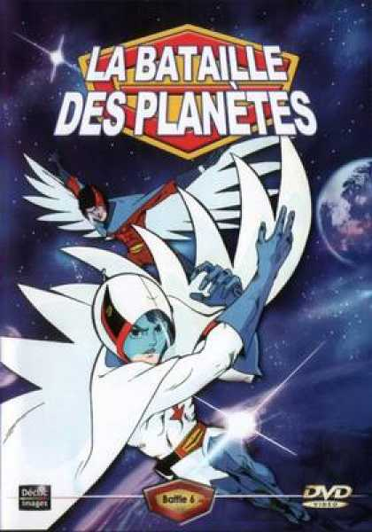 French DVDs - The Battle For The Planets Vol 6