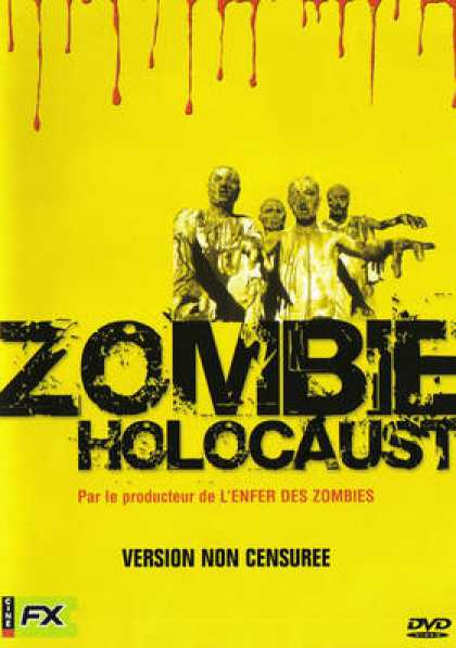 French DVDs - Zombie Holocaust